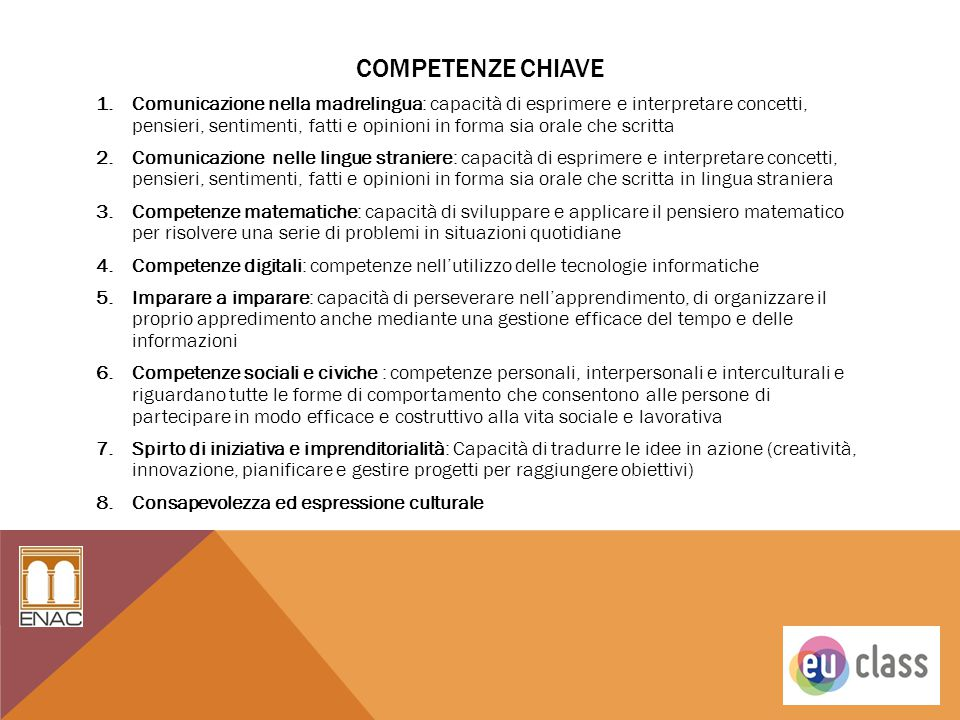 Competenze chiave