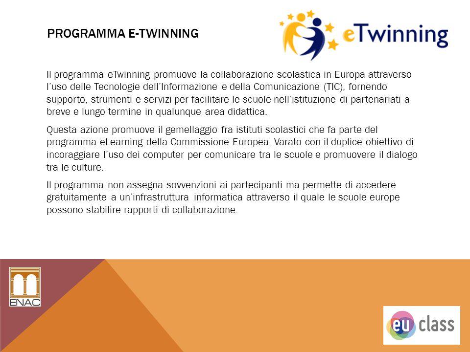pROGRAMMA E-TWINNING