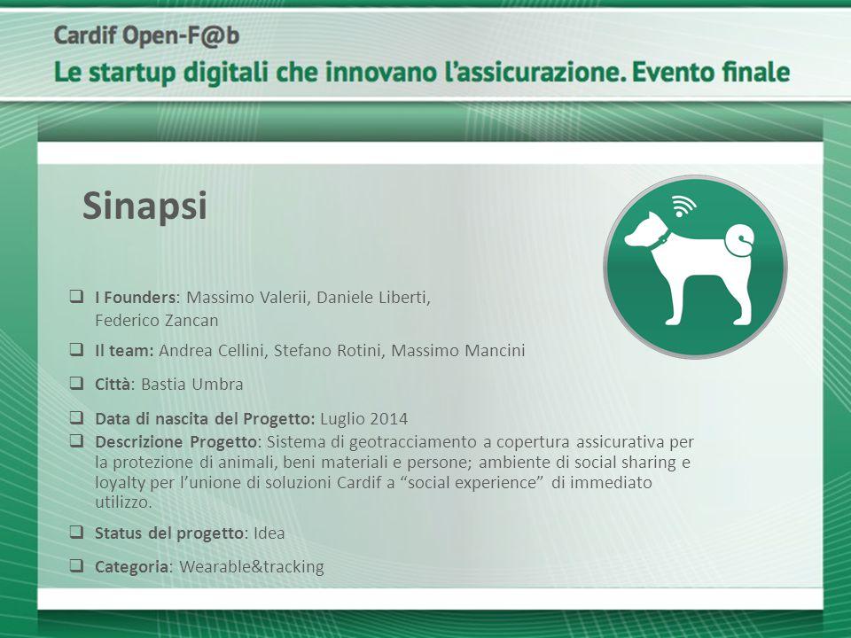 Sinapsi I Founders: Massimo Valerii, Daniele Liberti, Federico Zancan