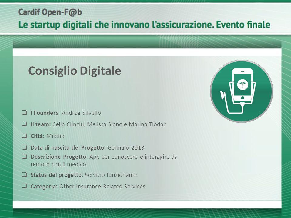 Consiglio Digitale I Founders: Andrea Silvello