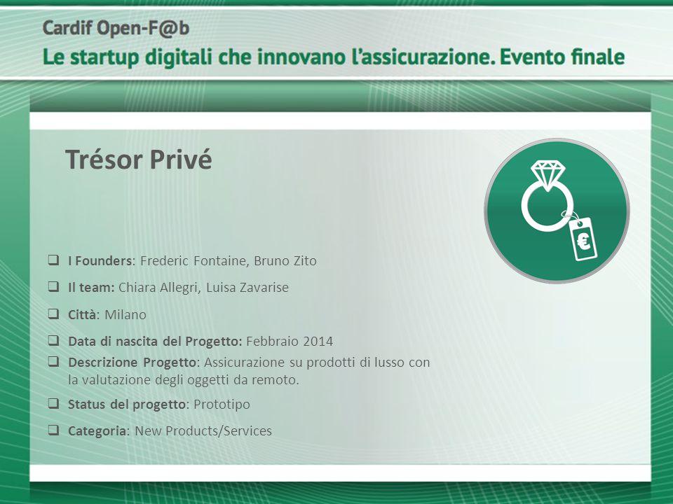 Trésor Privé I Founders: Frederic Fontaine, Bruno Zito