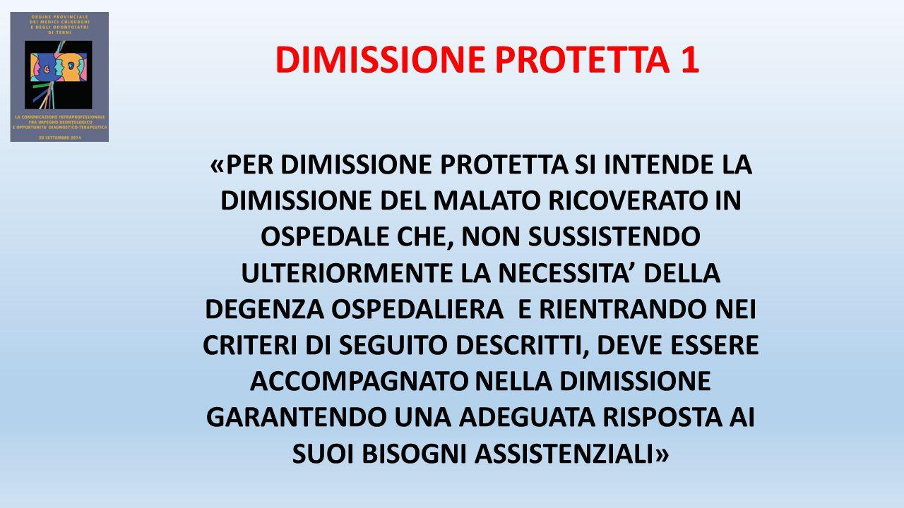 DIMISSIONE PROTETTA 1