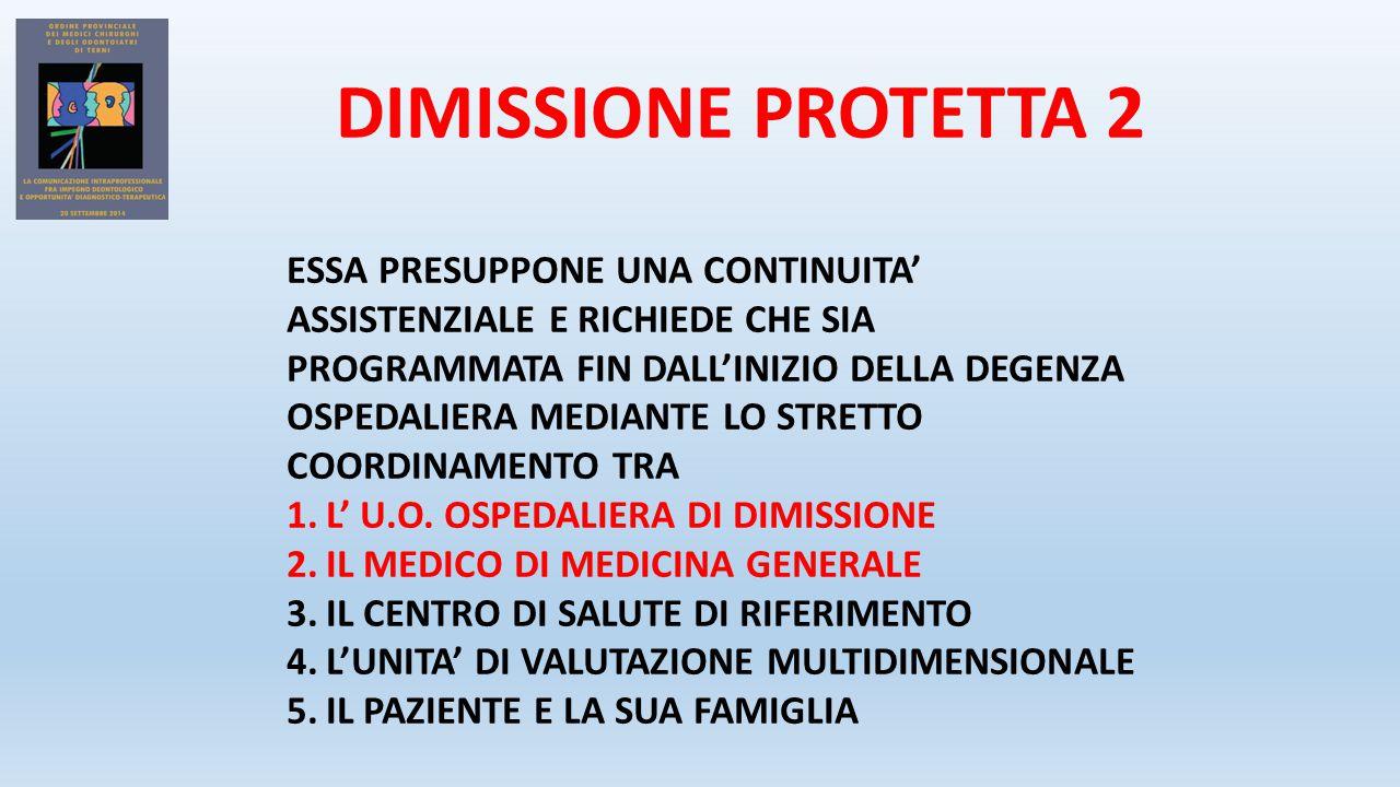 DIMISSIONE PROTETTA 2