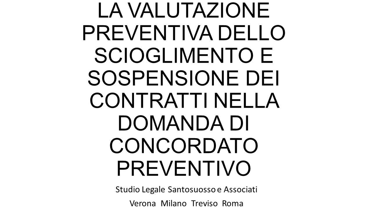 Studio Legale Santosuosso e Associati Verona Milano Treviso Roma