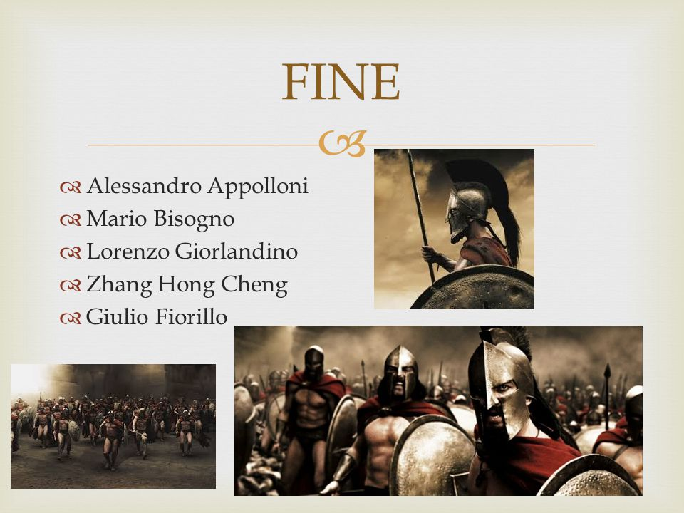 FINE Alessandro Appolloni Mario Bisogno Lorenzo Giorlandino