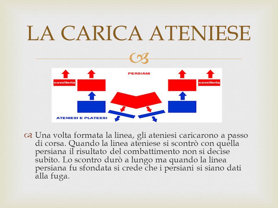 LA CARICA ATENIESE