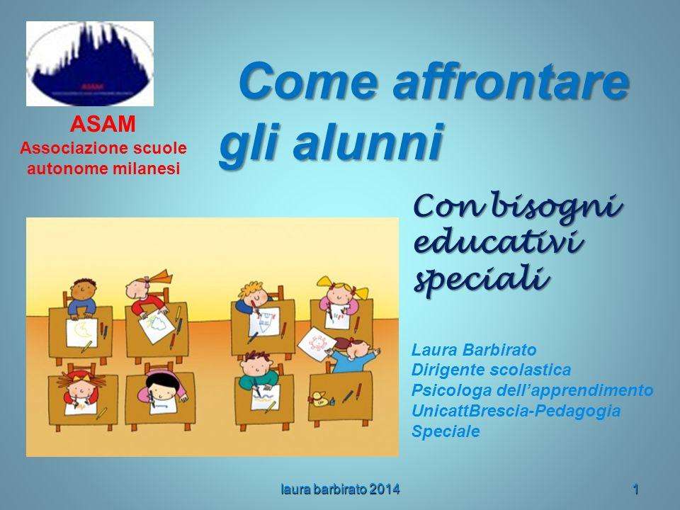 Come affrontare gli alunni Associazione scuole autonome milanesi