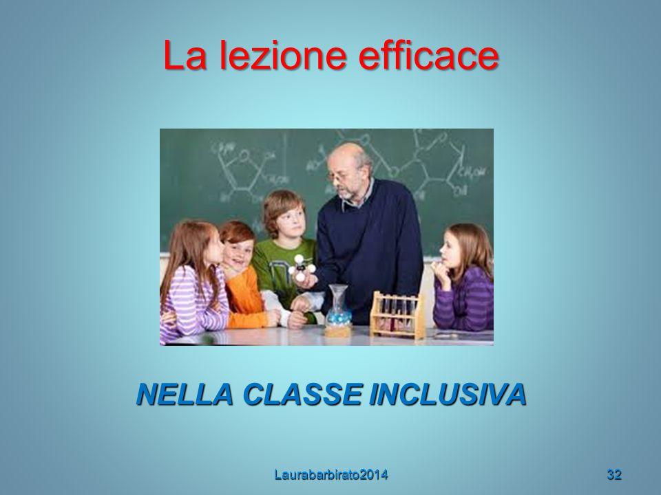 NELLA CLASSE INCLUSIVA