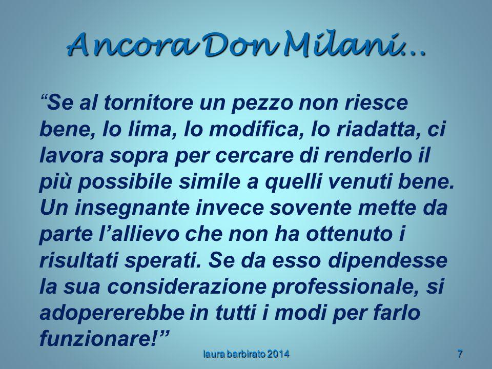 Ancora Don Milani…