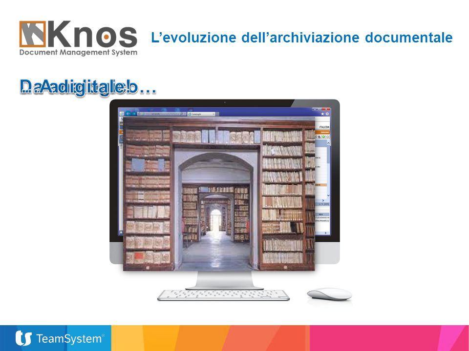 L'evoluzione dell'archiviazione documentale