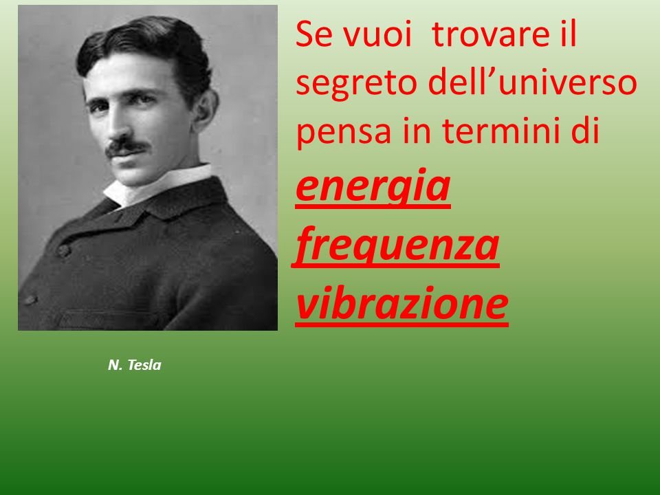 energia frequenza vibrazione