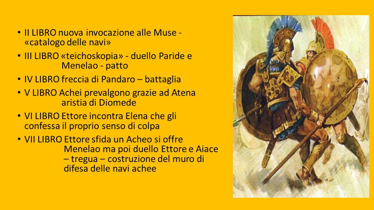 II LIBRO nuova invocazione alle Muse - «catalogo delle navi»
