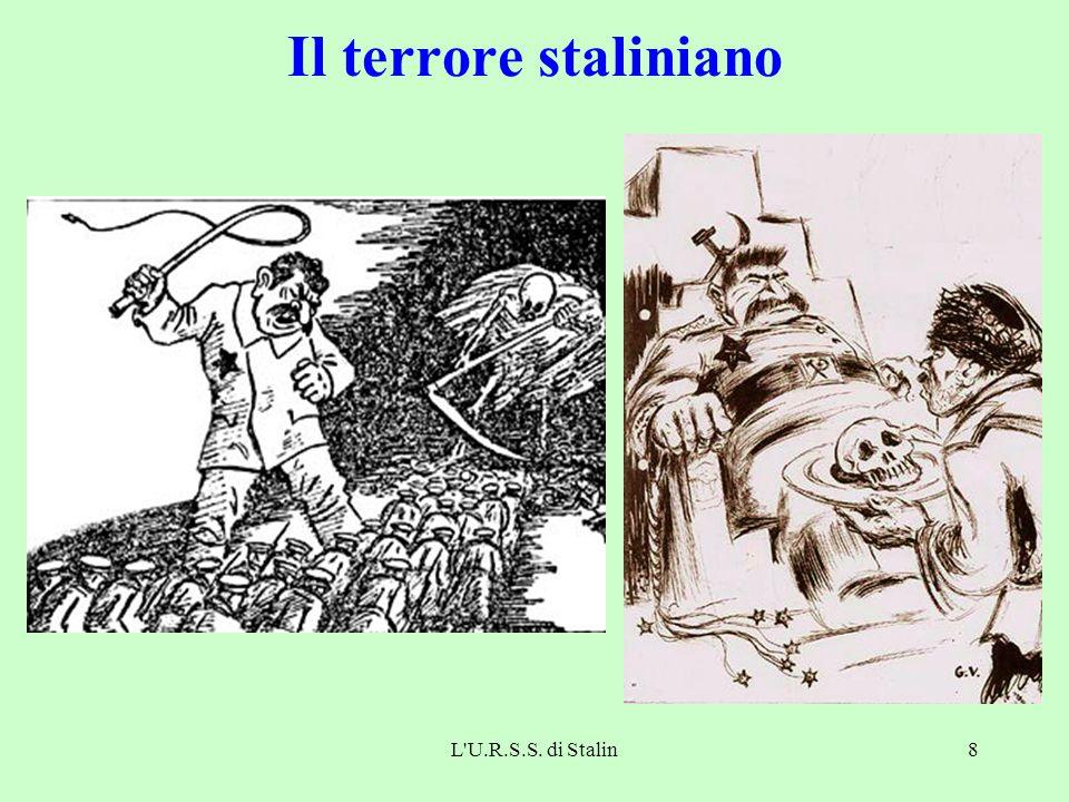 Il terrore staliniano L U.R.S.S. di Stalin