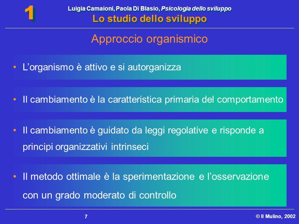 Approccio organismico