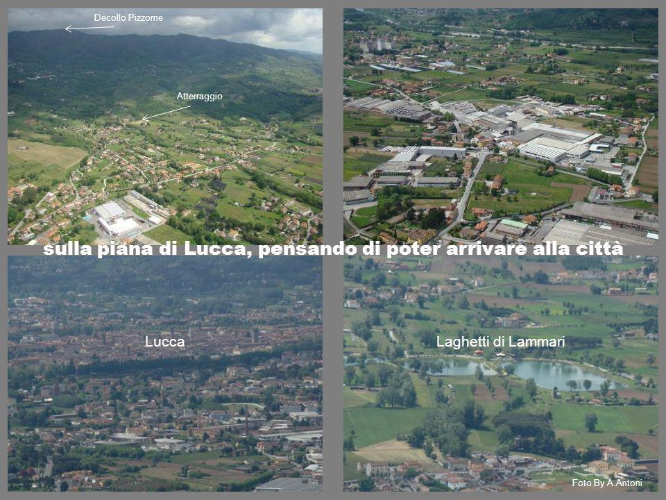 sulla piana di Lucca, pensando di poter arrivare alla città
