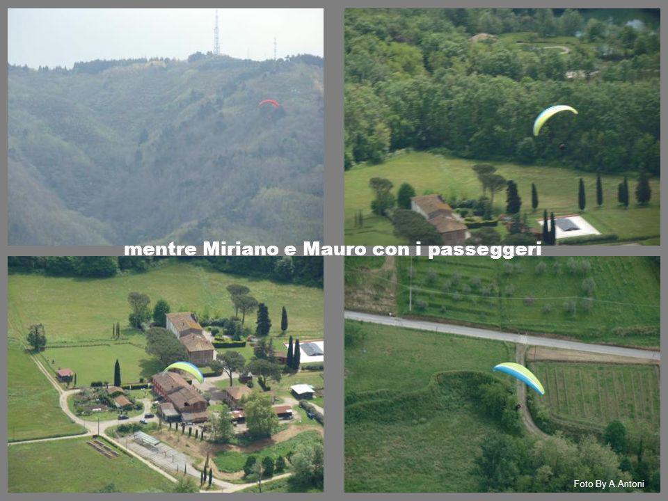mentre Miriano e Mauro con i passeggeri