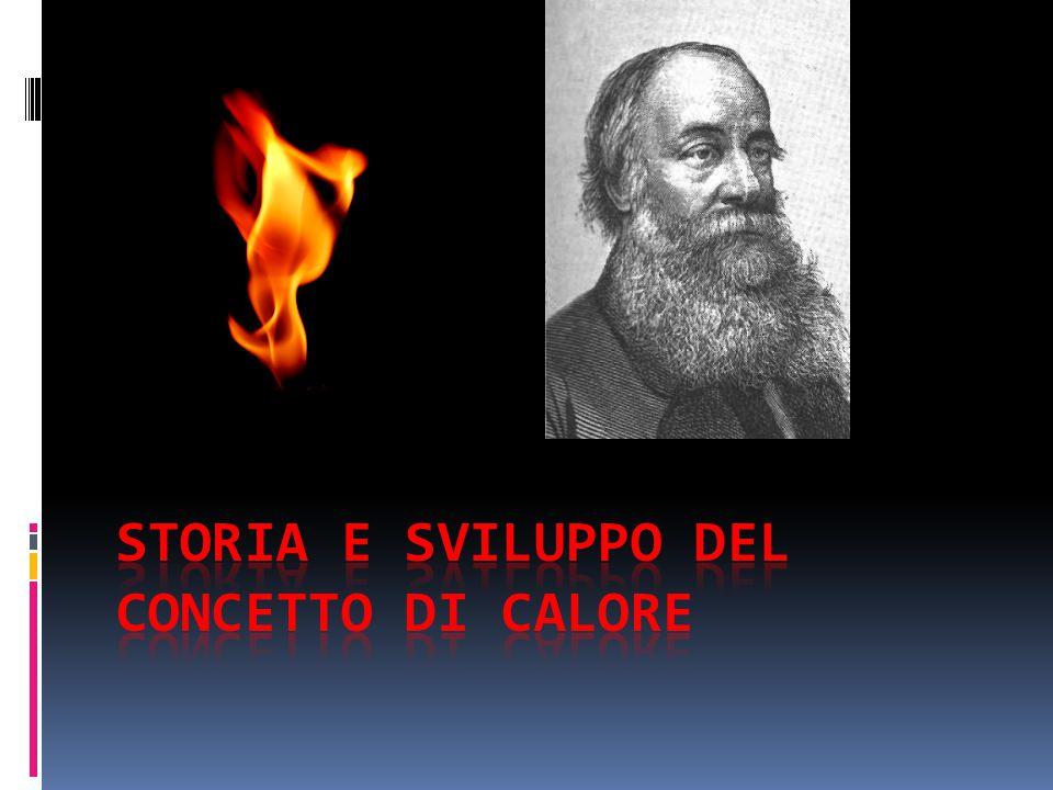 Storia e sviluppo del concetto di calore