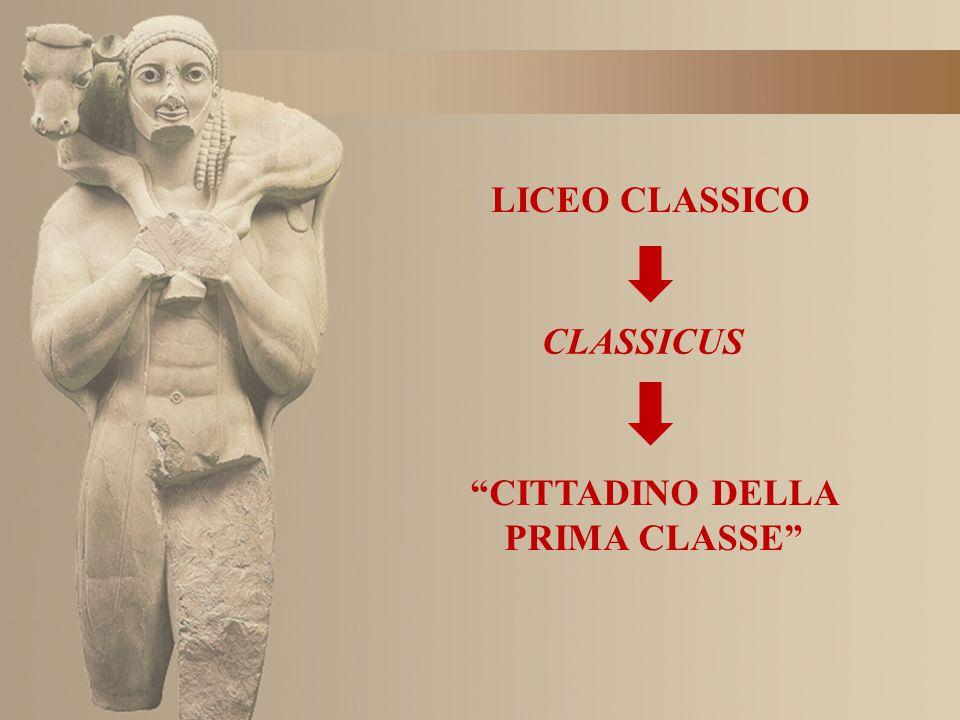 CITTADINO DELLA PRIMA CLASSE