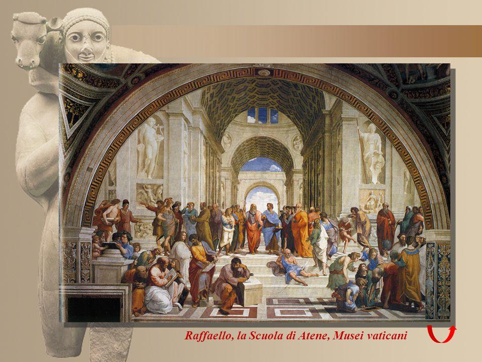 Raffaello, la Scuola di Atene, Musei vaticani