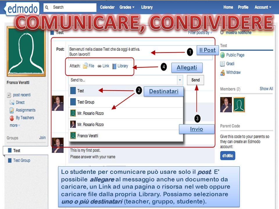 COMUNICARE, CONDIVIDERE