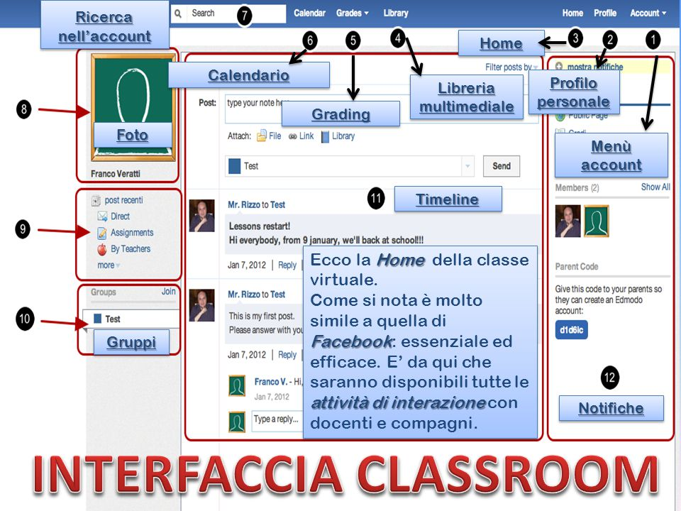 INTERFACCIA CLASSROOM