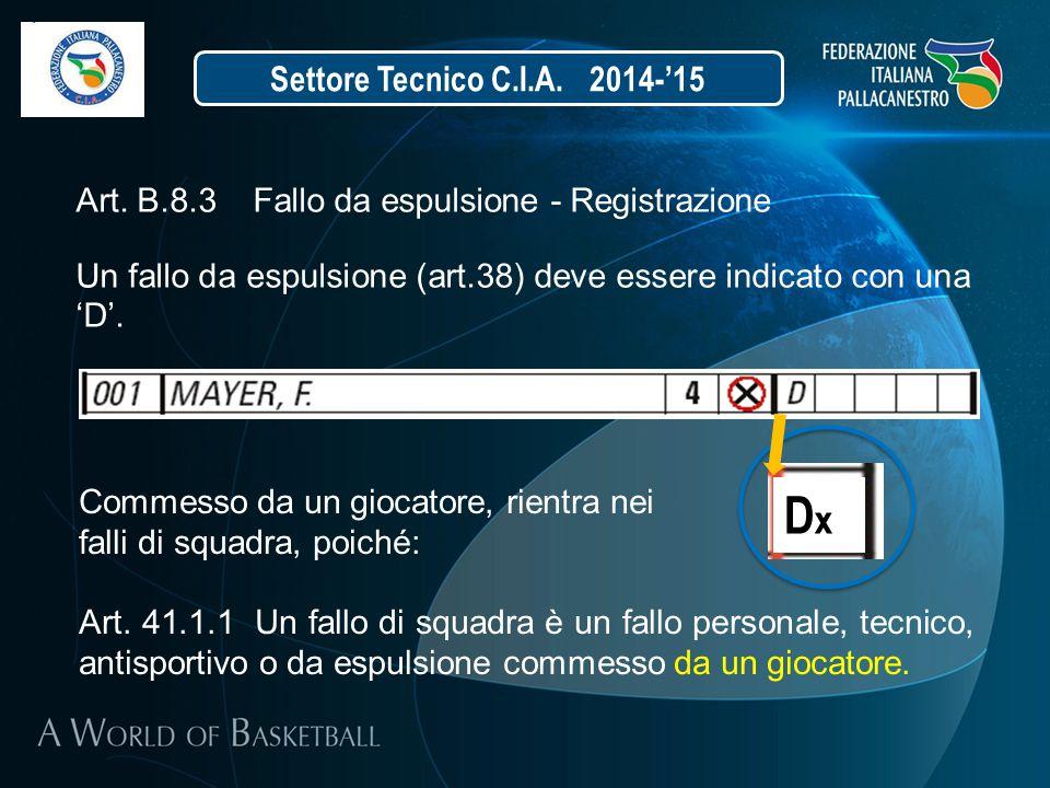 Dx Settore Tecnico C.I.A. 2014-'15