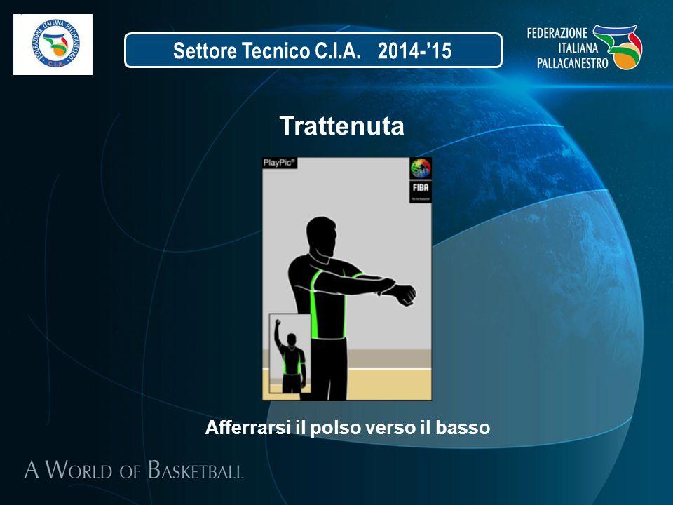 Trattenuta Settore Tecnico C.I.A. 2014-'15