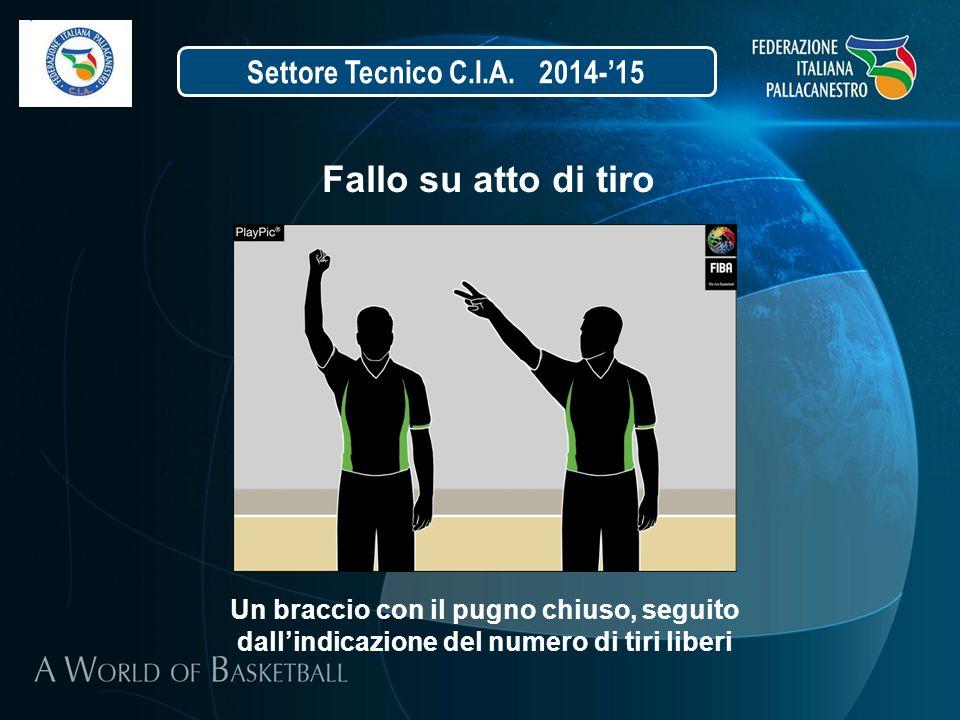 Fallo su atto di tiro Settore Tecnico C.I.A. 2014-'15