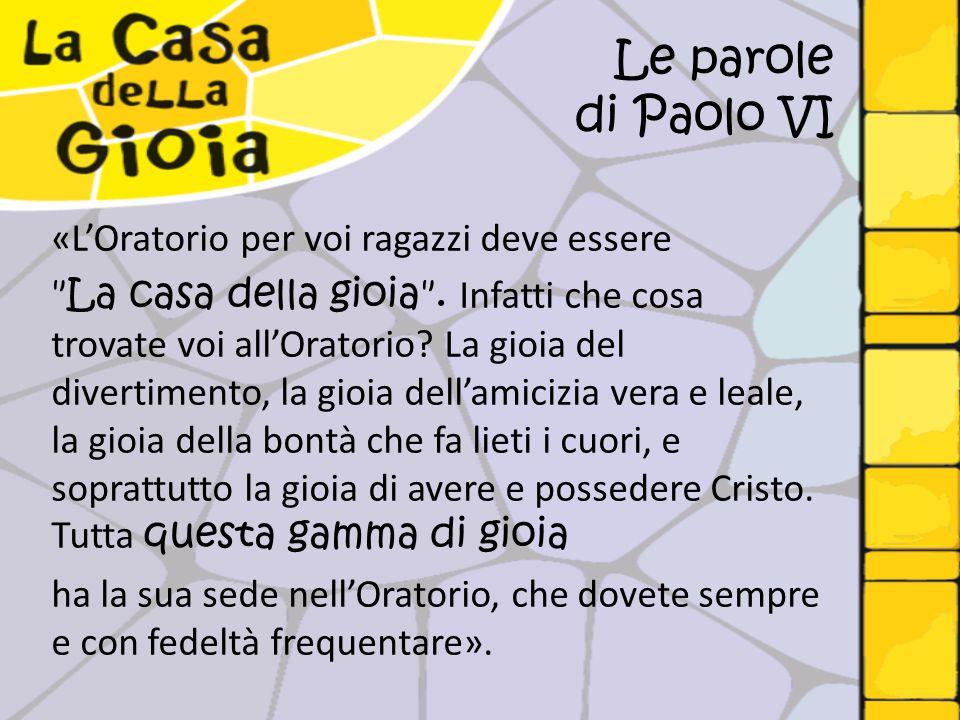 Le parole di Paolo VI