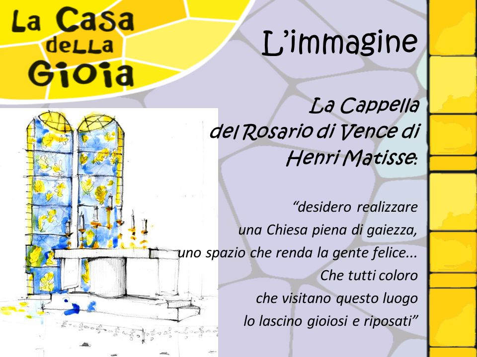 L'immagine La Cappella del Rosario di Vence di Henri Matisse: