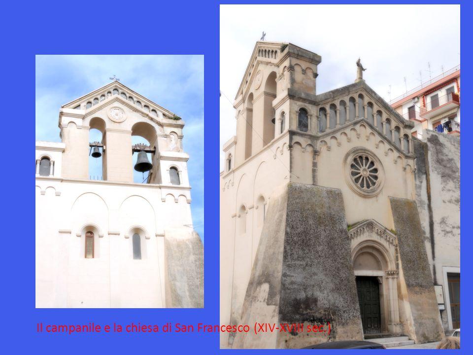 Il campanile e la chiesa di San Francesco (XIV-XVIII sec.)