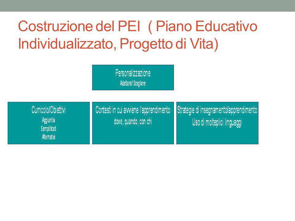 Piano educativo individualizzato progetto di vita ppt for Progetto del piano di costruzione