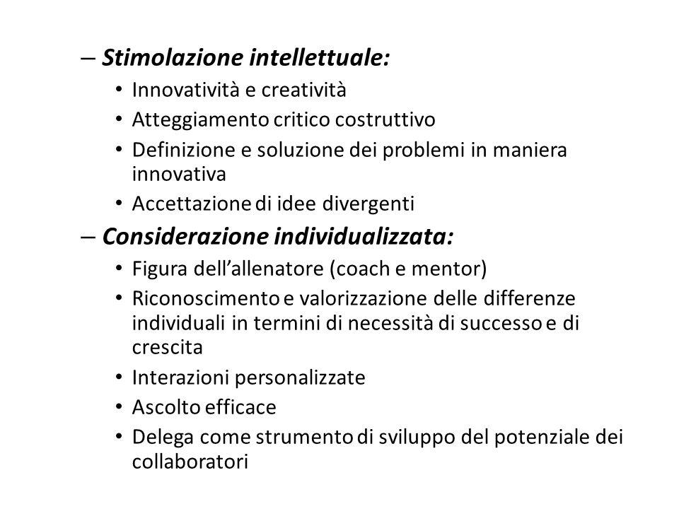 Stimolazione intellettuale: