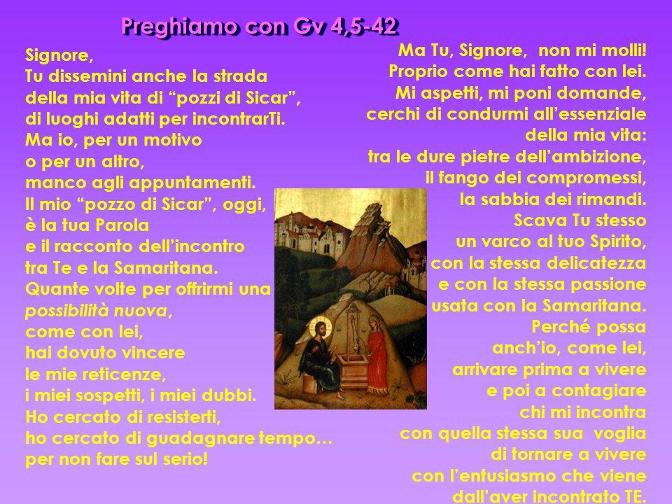 Preghiamo con Gv 4,5-42