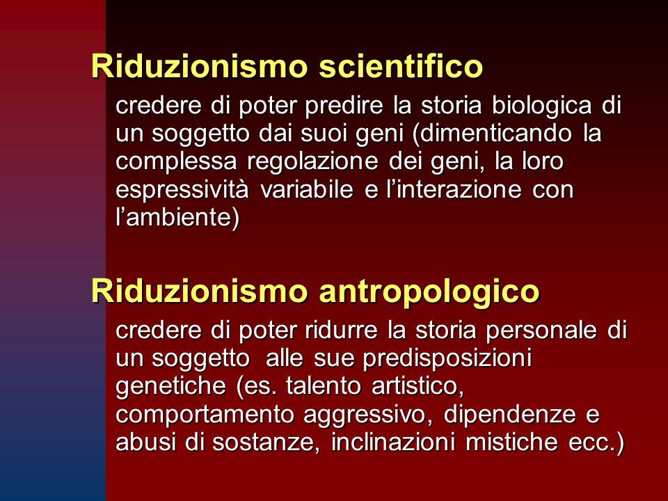 Riduzionismo scientifico