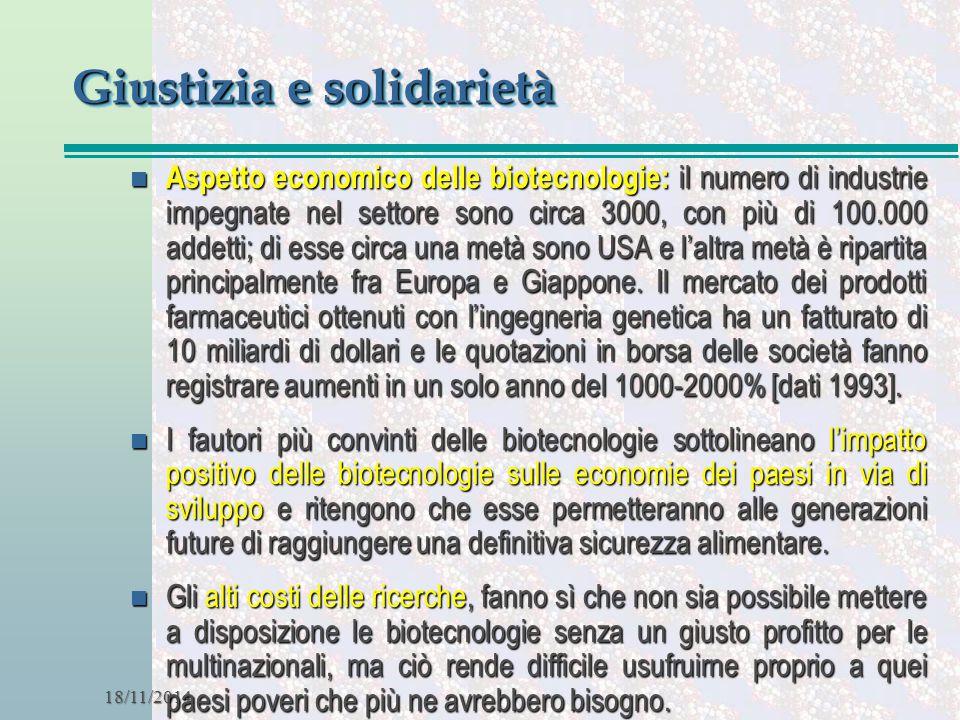 Giustizia e solidarietà