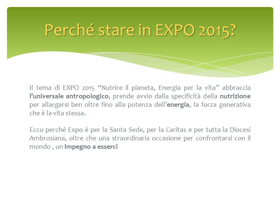 Perché stare in EXPO 2015