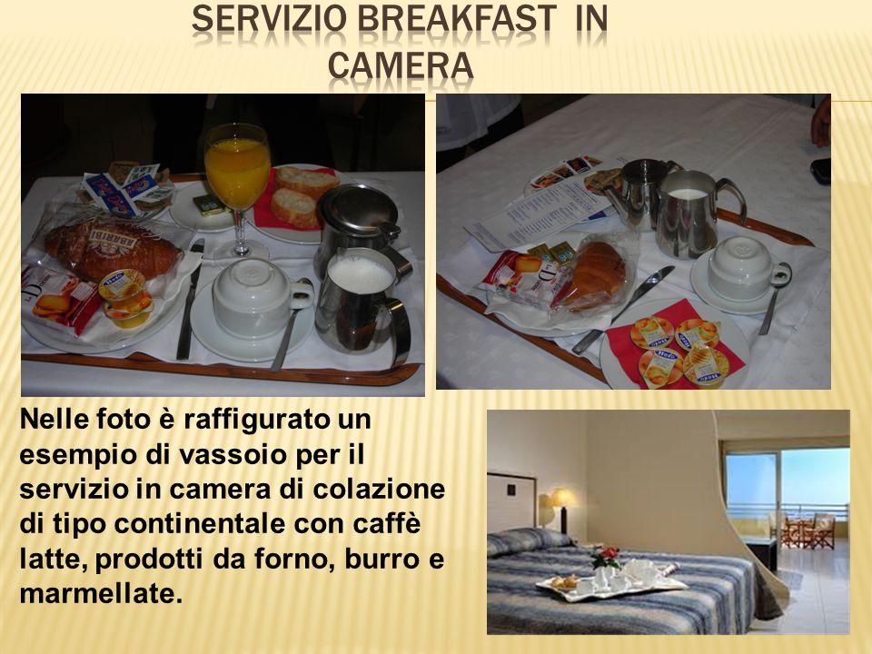 SERVIZIO breakfast IN CAMERA