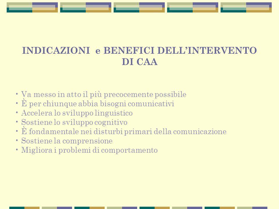 INDICAZIONI e BENEFICI DELL'INTERVENTO