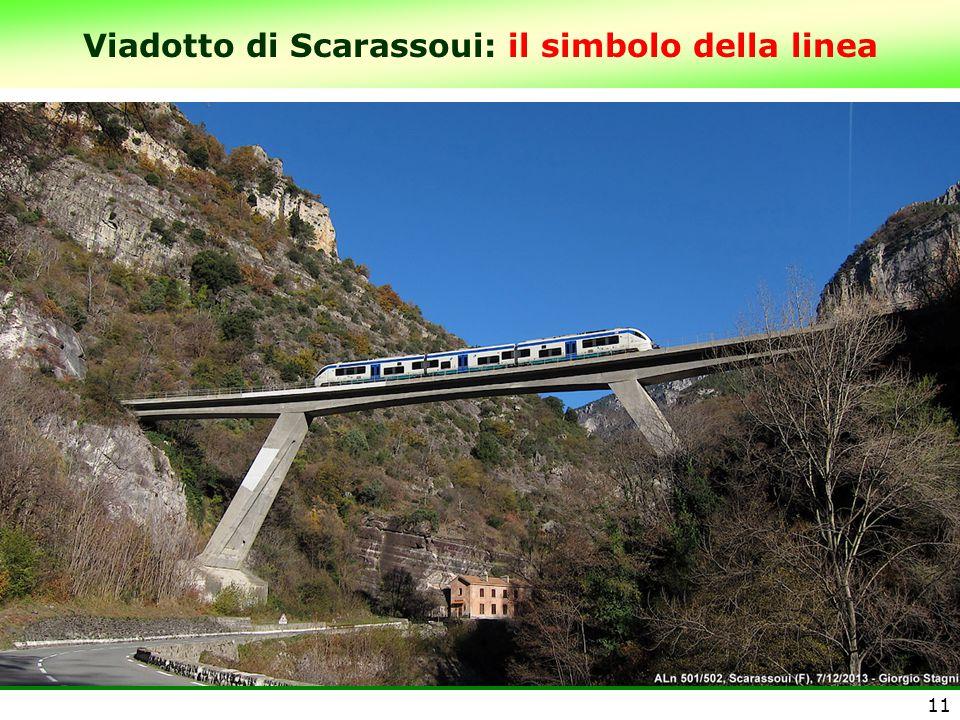 Viadotto di Scarassoui: il simbolo della linea