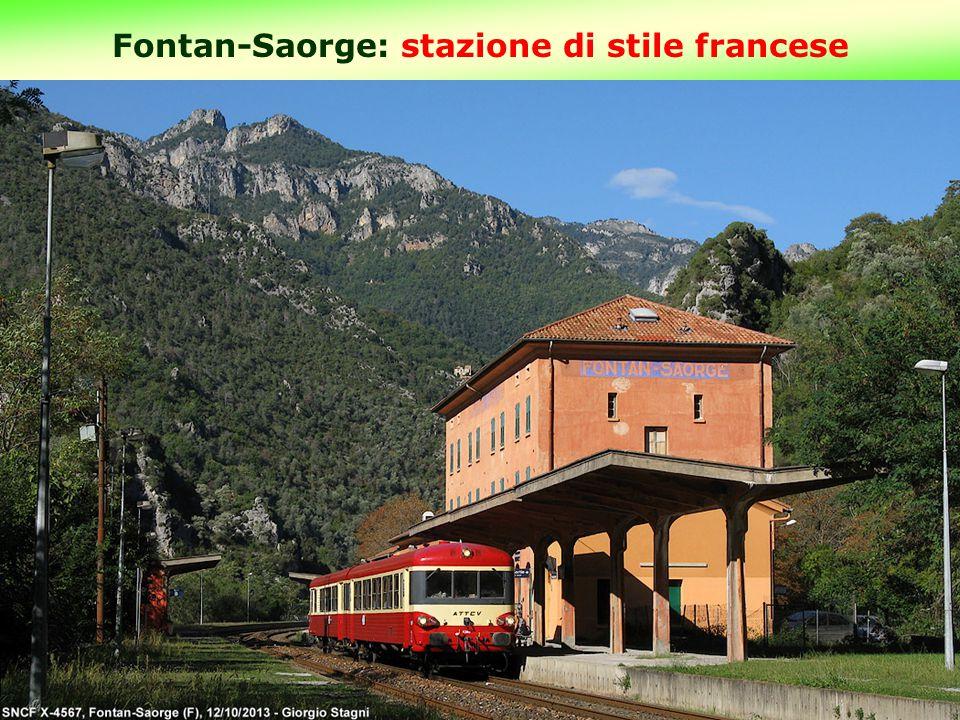 Fontan-Saorge: stazione di stile francese