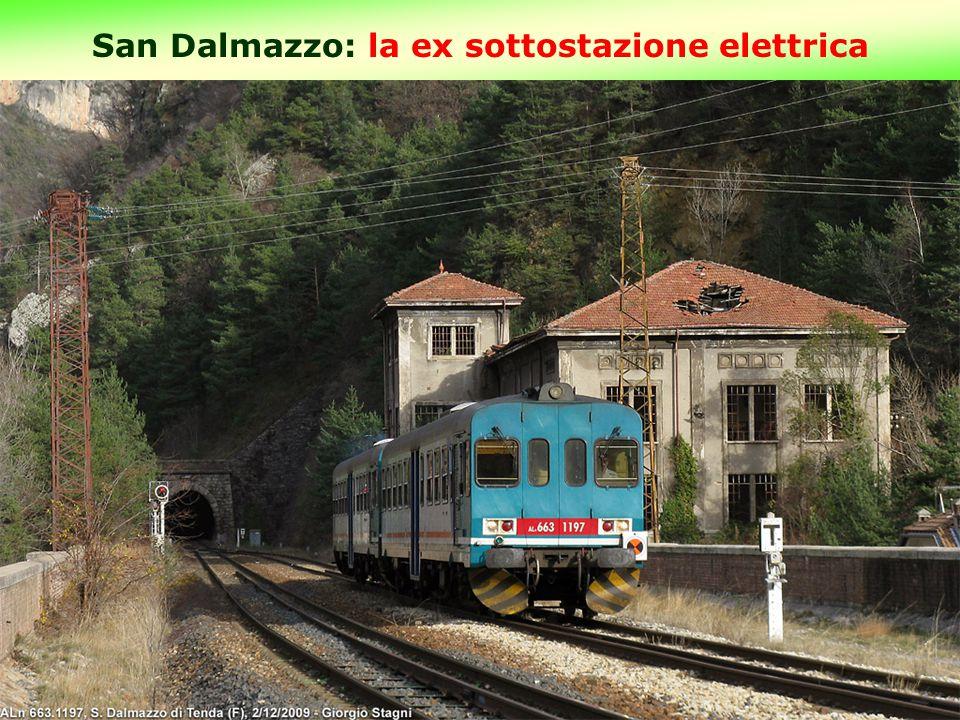 San Dalmazzo: la ex sottostazione elettrica