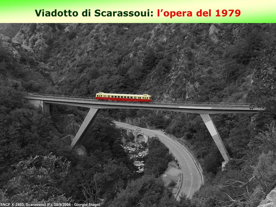 Viadotto di Scarassoui: l'opera del 1979