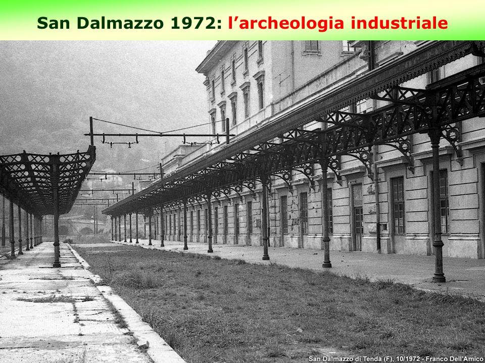 San Dalmazzo 1972: l'archeologia industriale