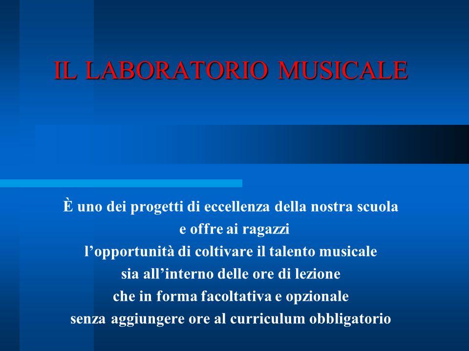 IL LABORATORIO MUSICALE