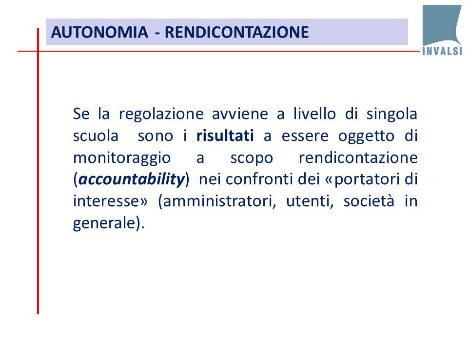 AUTONOMIA - RENDICONTAZIONE