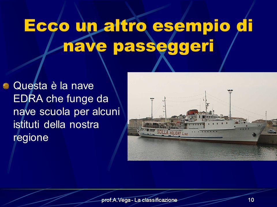 Ecco un altro esempio di nave passeggeri