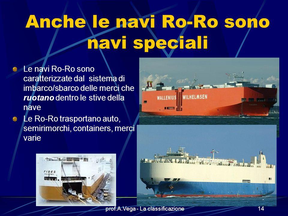 Anche le navi Ro-Ro sono navi speciali