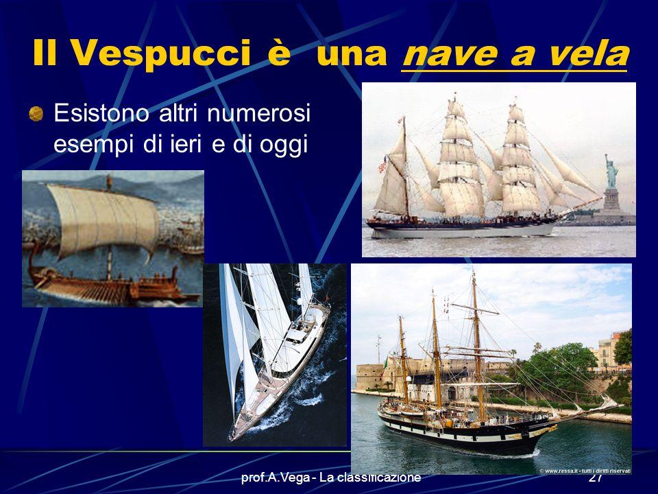 Il Vespucci è una nave a vela
