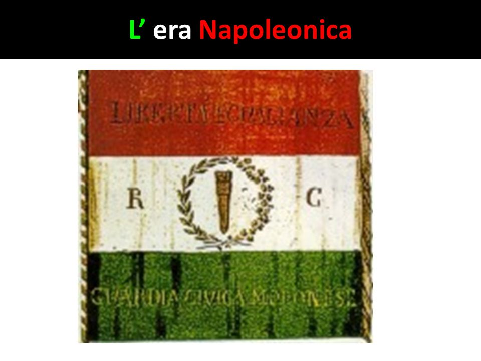 L' era Napoleonica